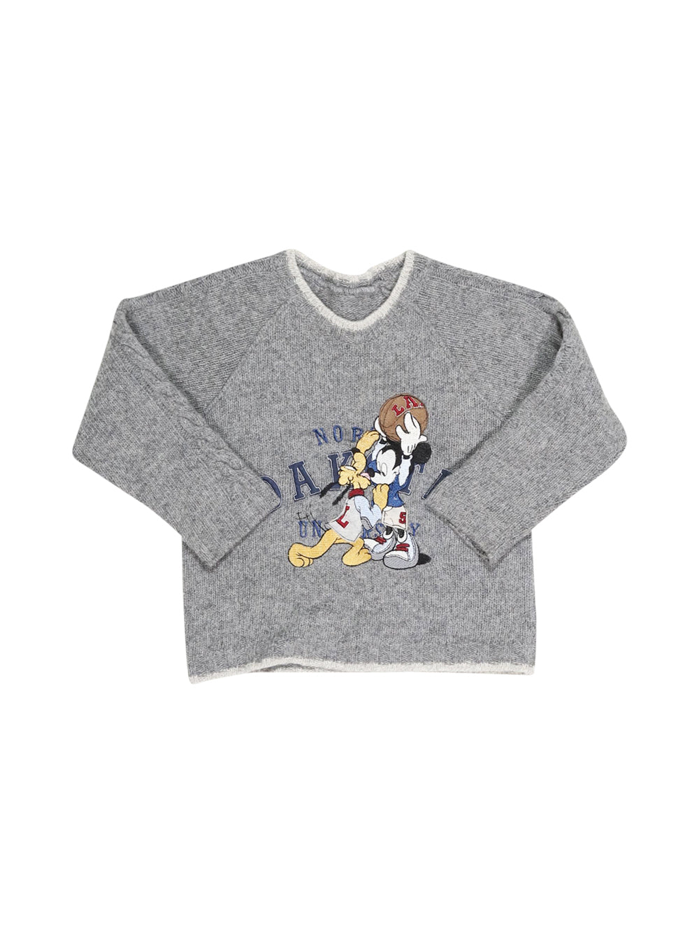 Front photo of Preloved Disney Grey Boy's sweater - size 12-18 mths