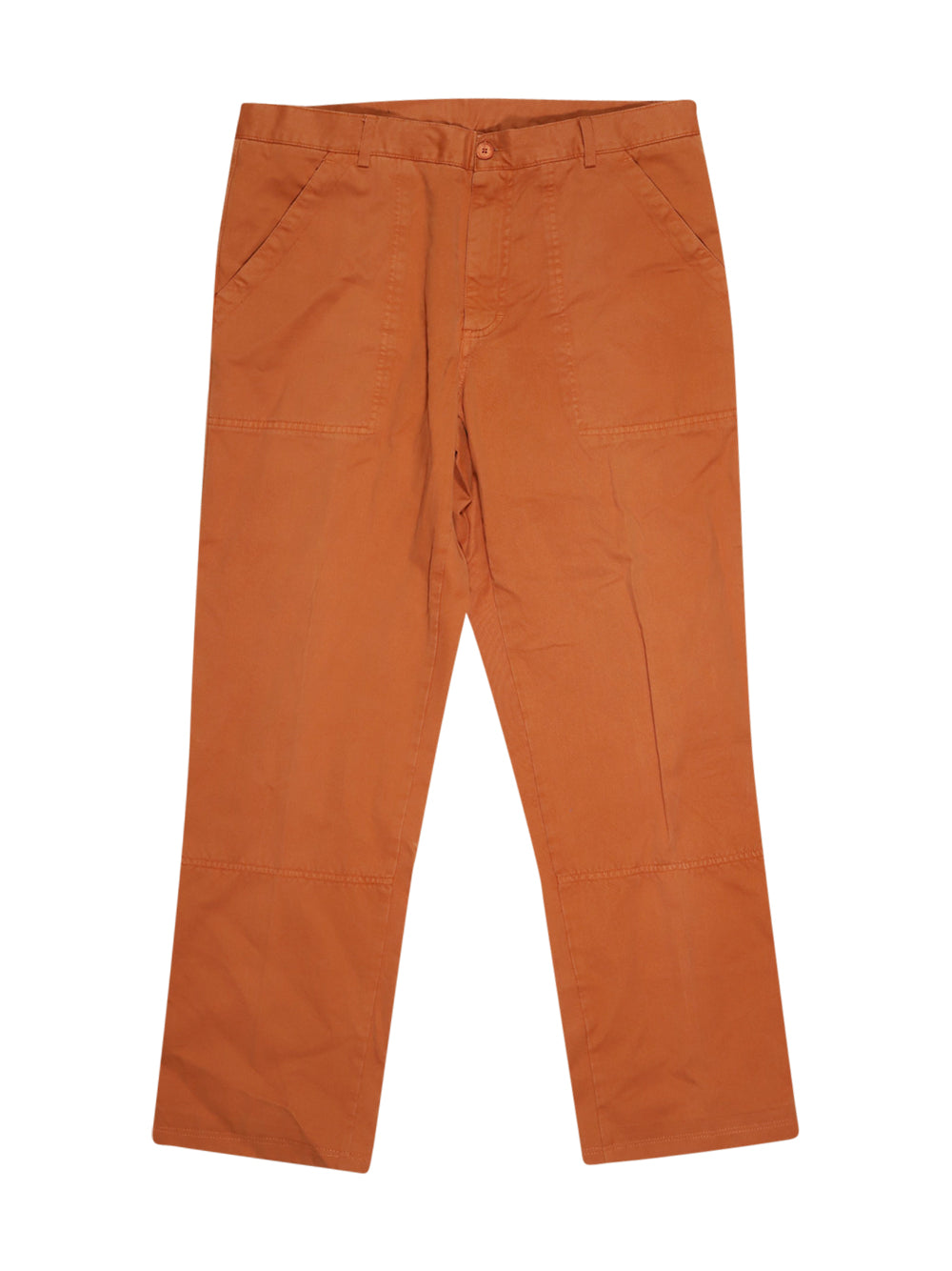 Front photo of Preloved COTTON'S INDUSTRIES Orange Man's trousers - size 44/XXL