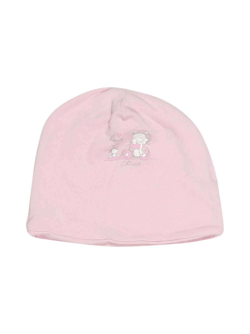 Front photo of Preloved Chicco Pink Girl's hat - size 2-3 yrs
