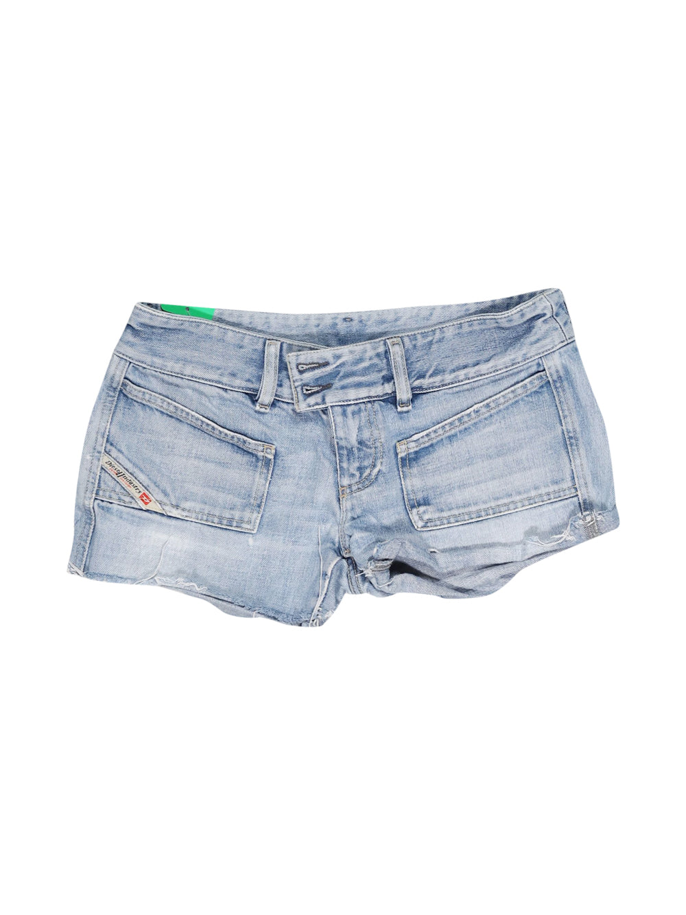 Front photo of Preloved Diesel Blue Woman's shorts - size 10/M