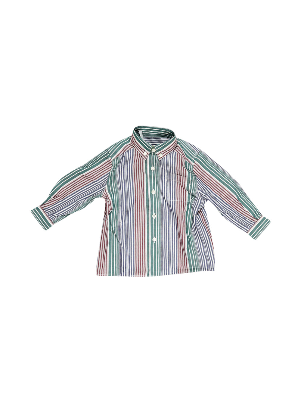 Front photo of Unworn Cacharel Green Boy's shirt - size 18-24 mths