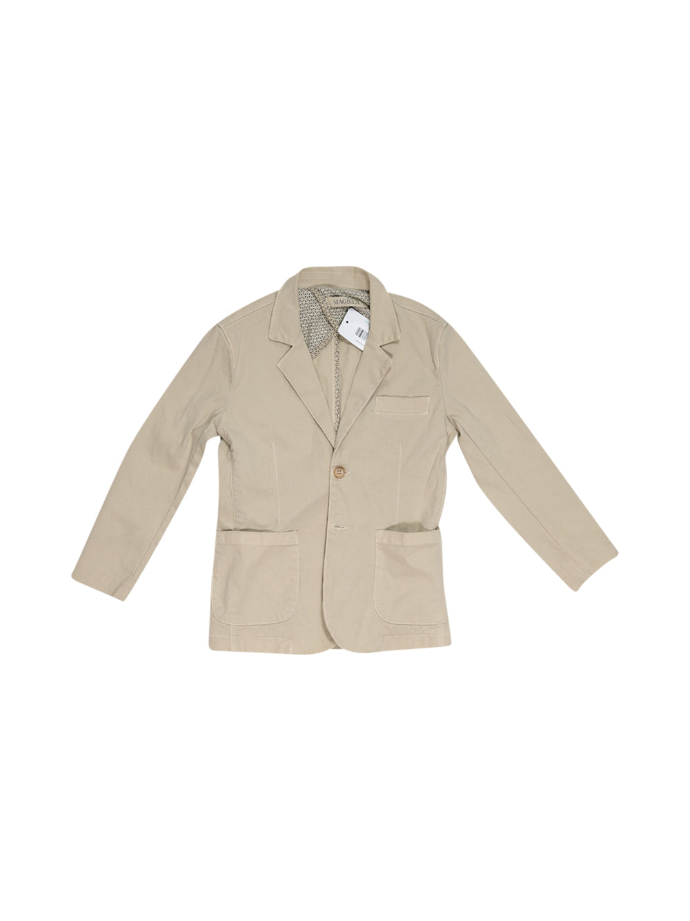 Front photo of Preloved magilla Beige Girl's blazer - size 7-8 yrs