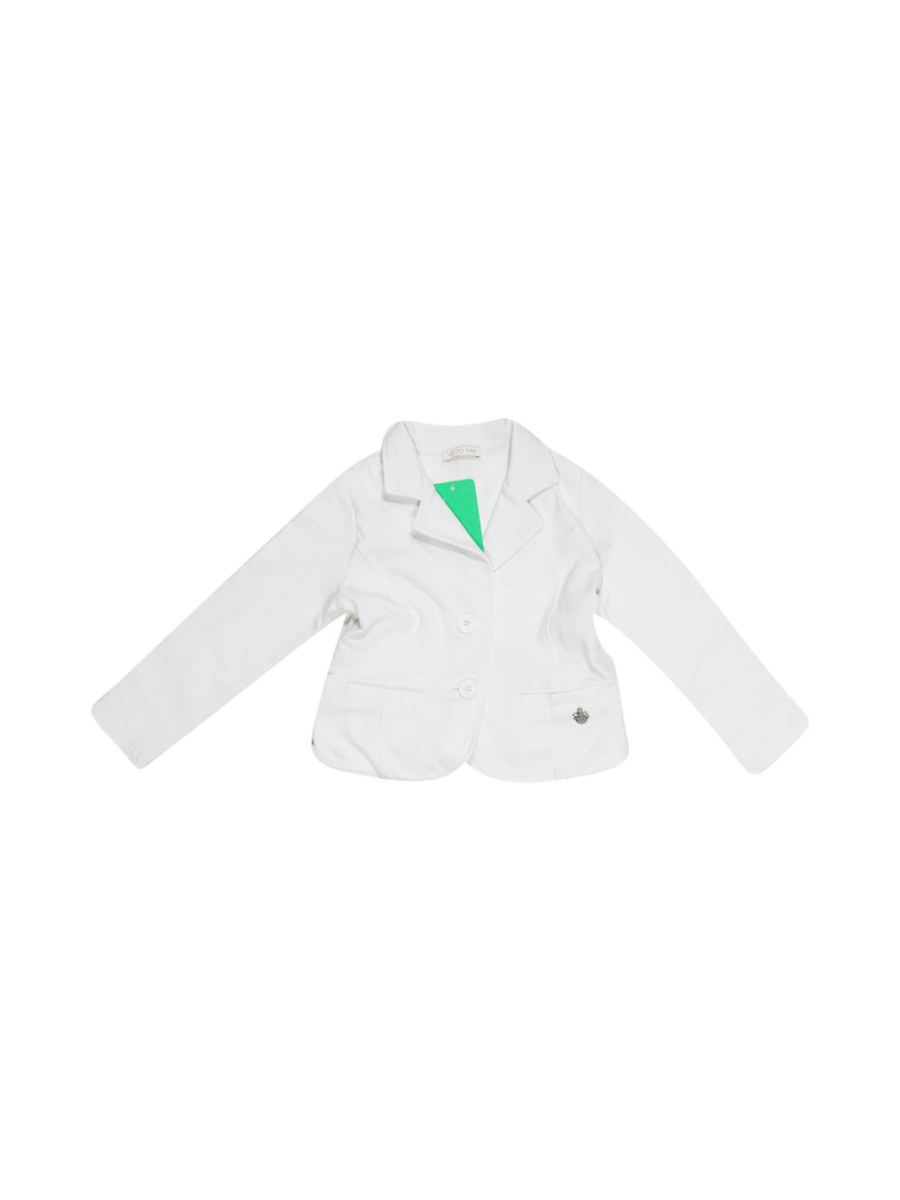 Front photo of Preloved Liu Jo White Girl's blazer - size 3-4 yrs