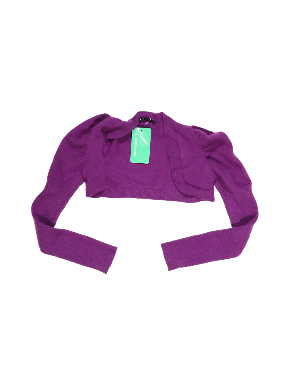 Front photo of Preloved Sisley Violet Girl's bolero - size 2-3 yrs