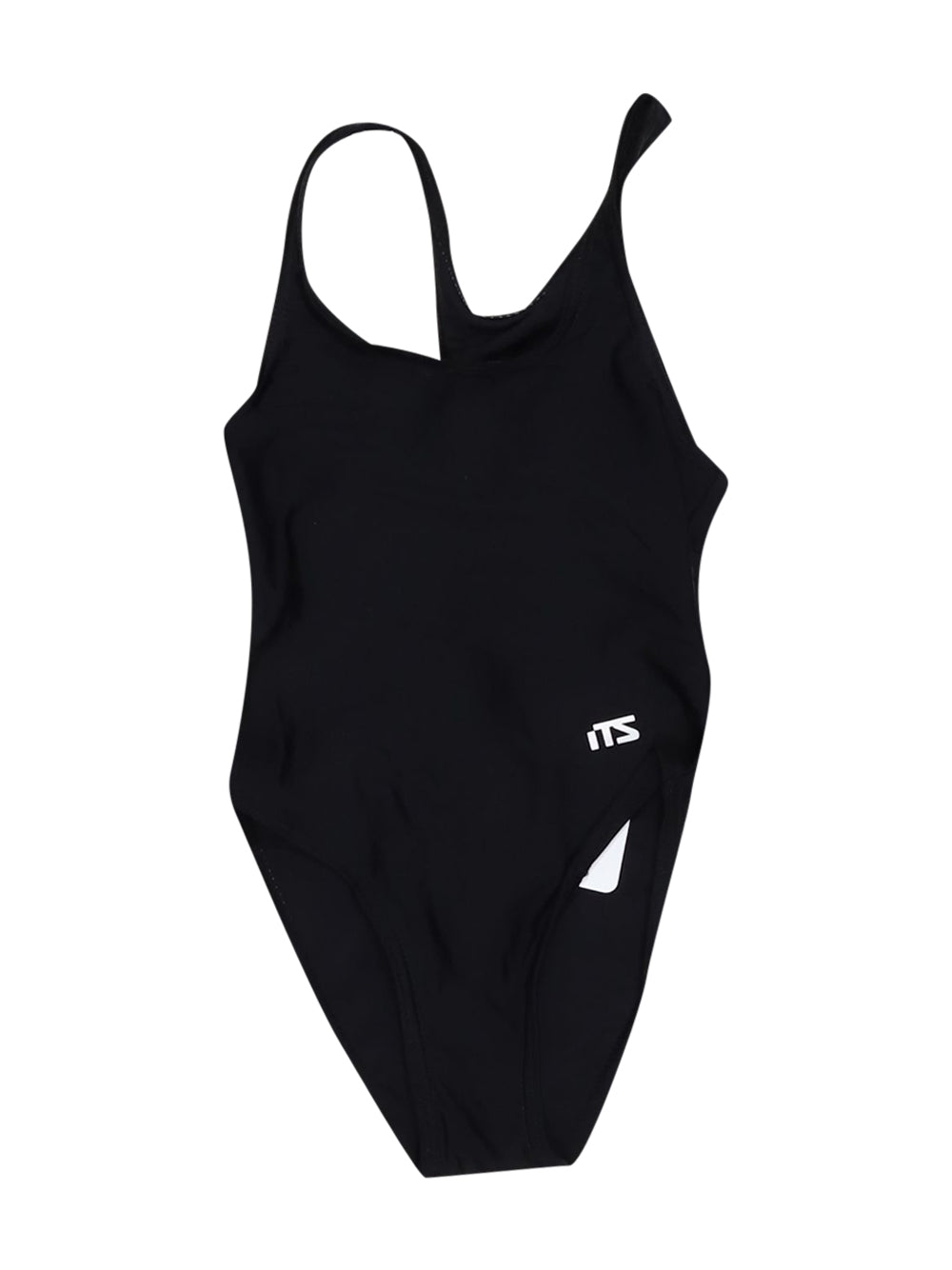 Front photo of Preloved it's Black Girl's swimsuit - size 2-3 yrs