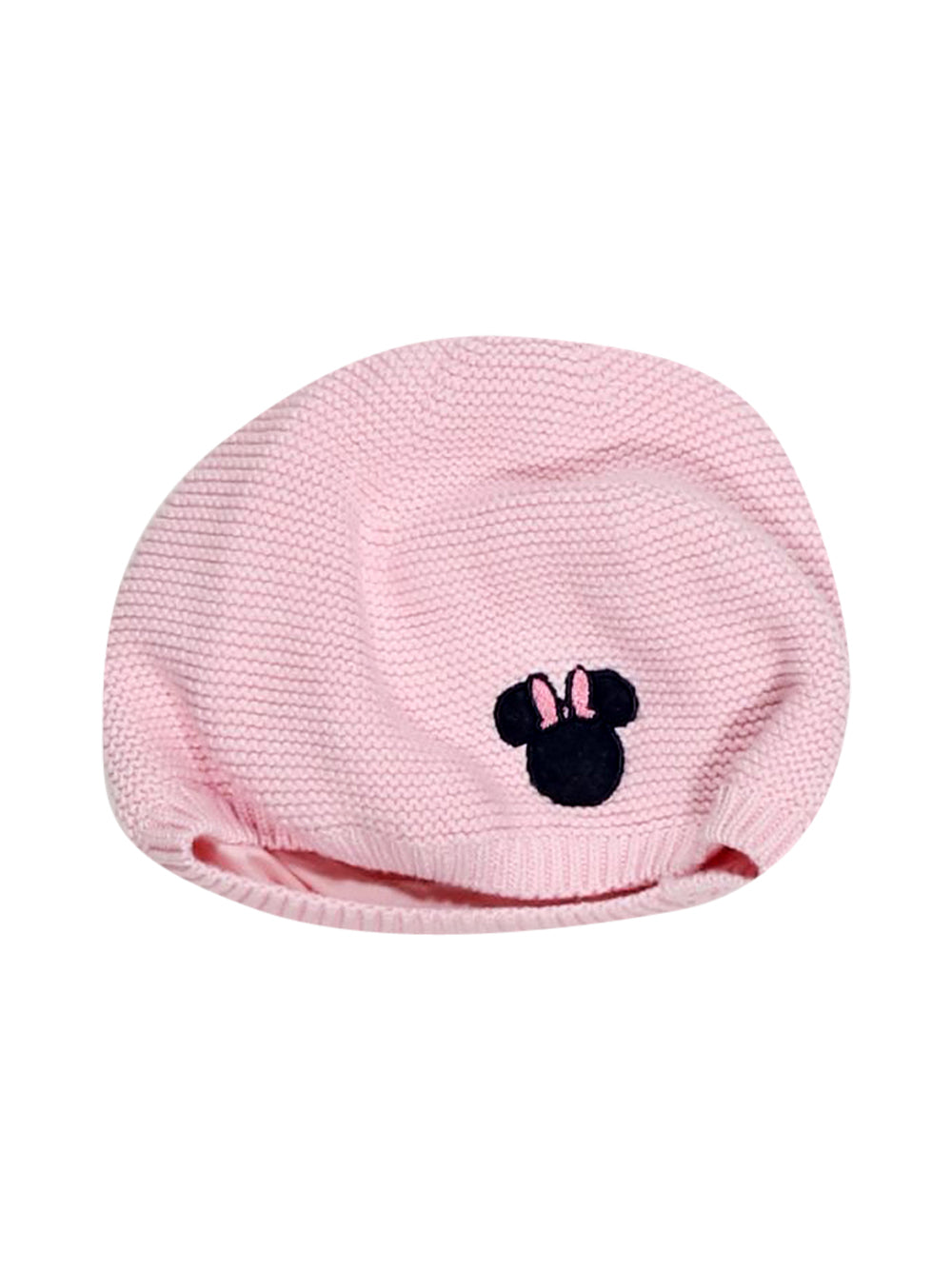 Front photo of Preloved Disney Pink Girl's hat - size 18-24 mths