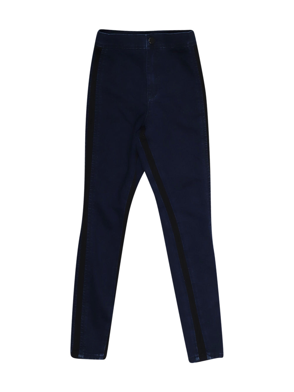 Front photo of Preloved Asos Blue Woman's trousers - size 6/XS