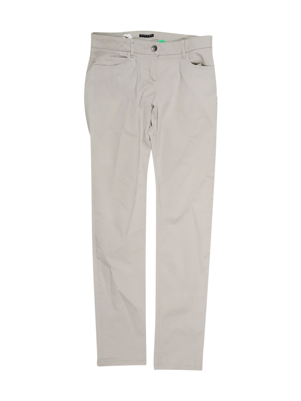 Front photo of Preloved Sisley Beige Woman's trousers - size 10/M