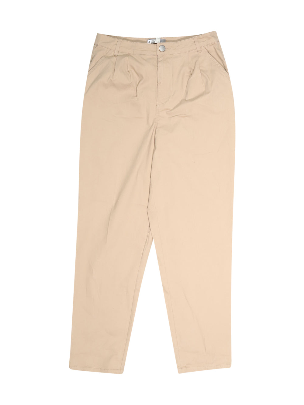 Front photo of Unworn Asos Beige Woman's trousers - size 12/L
