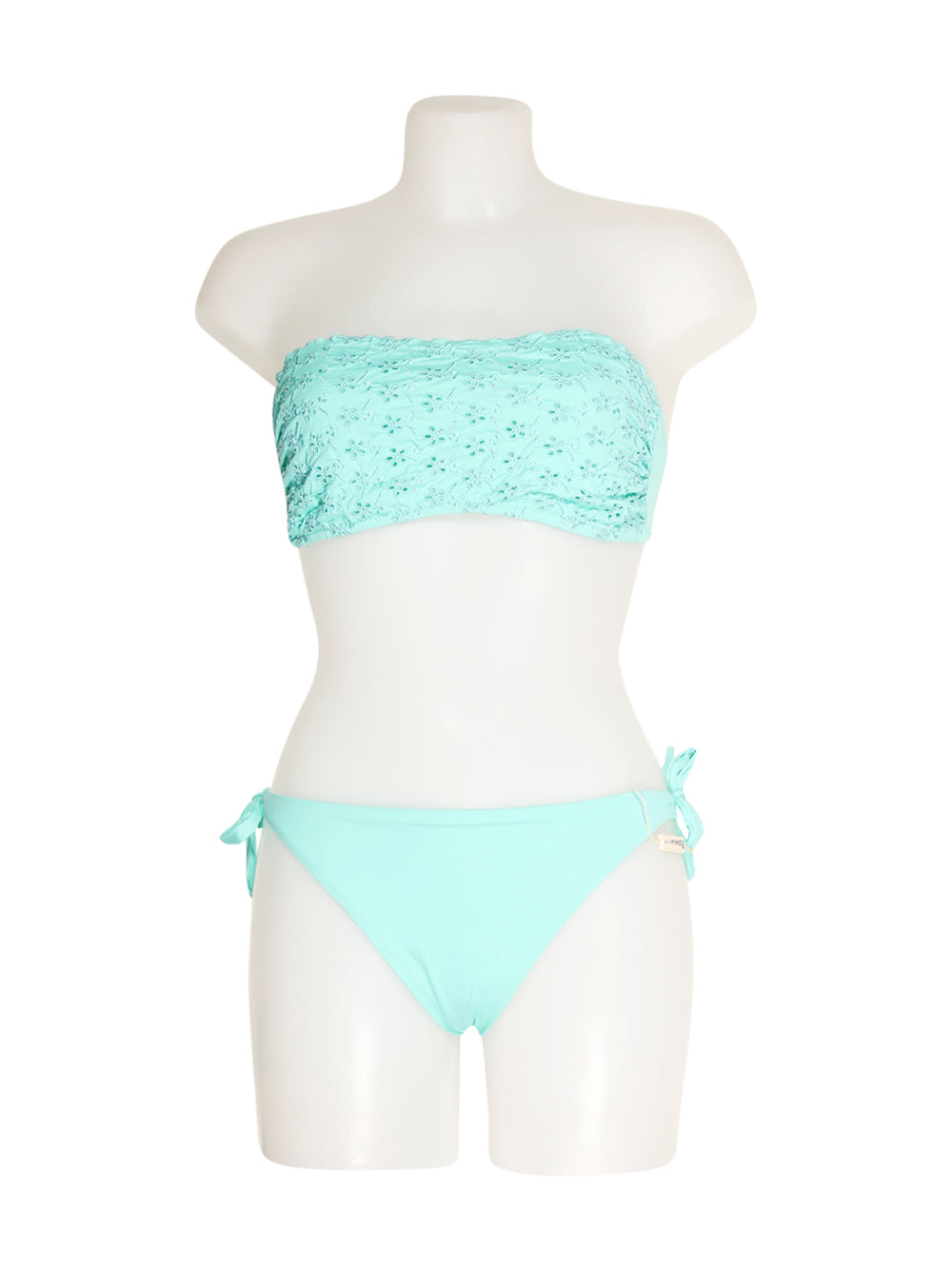 Front photo of Preloved ferana beach Light-blue Woman's swimsuit - size 16/XXL