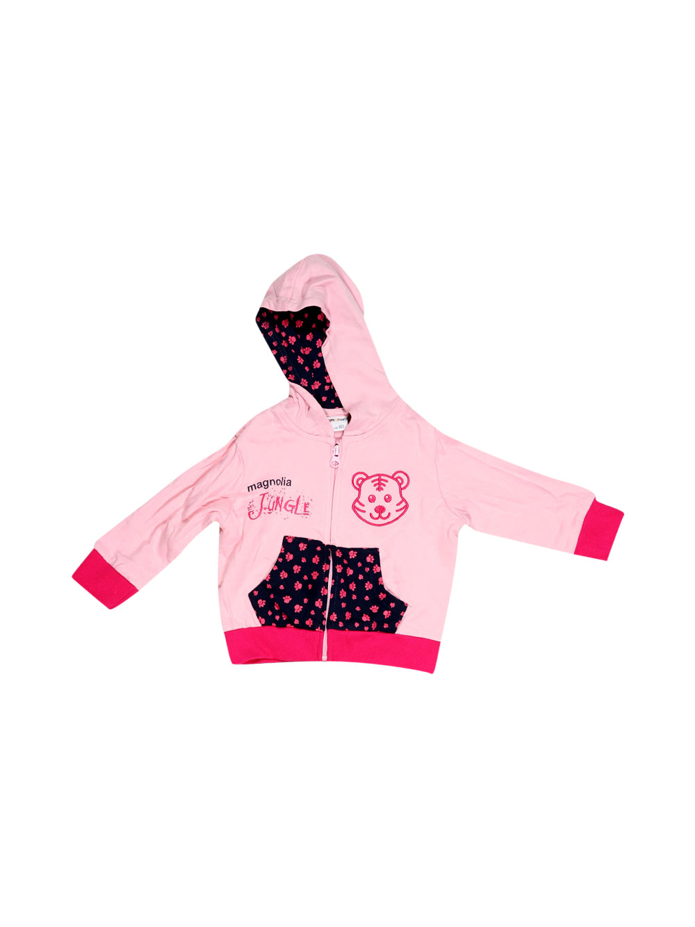 Front photo of Unworn Magnolia Pink Girl's sport suit - size 9-12 mths