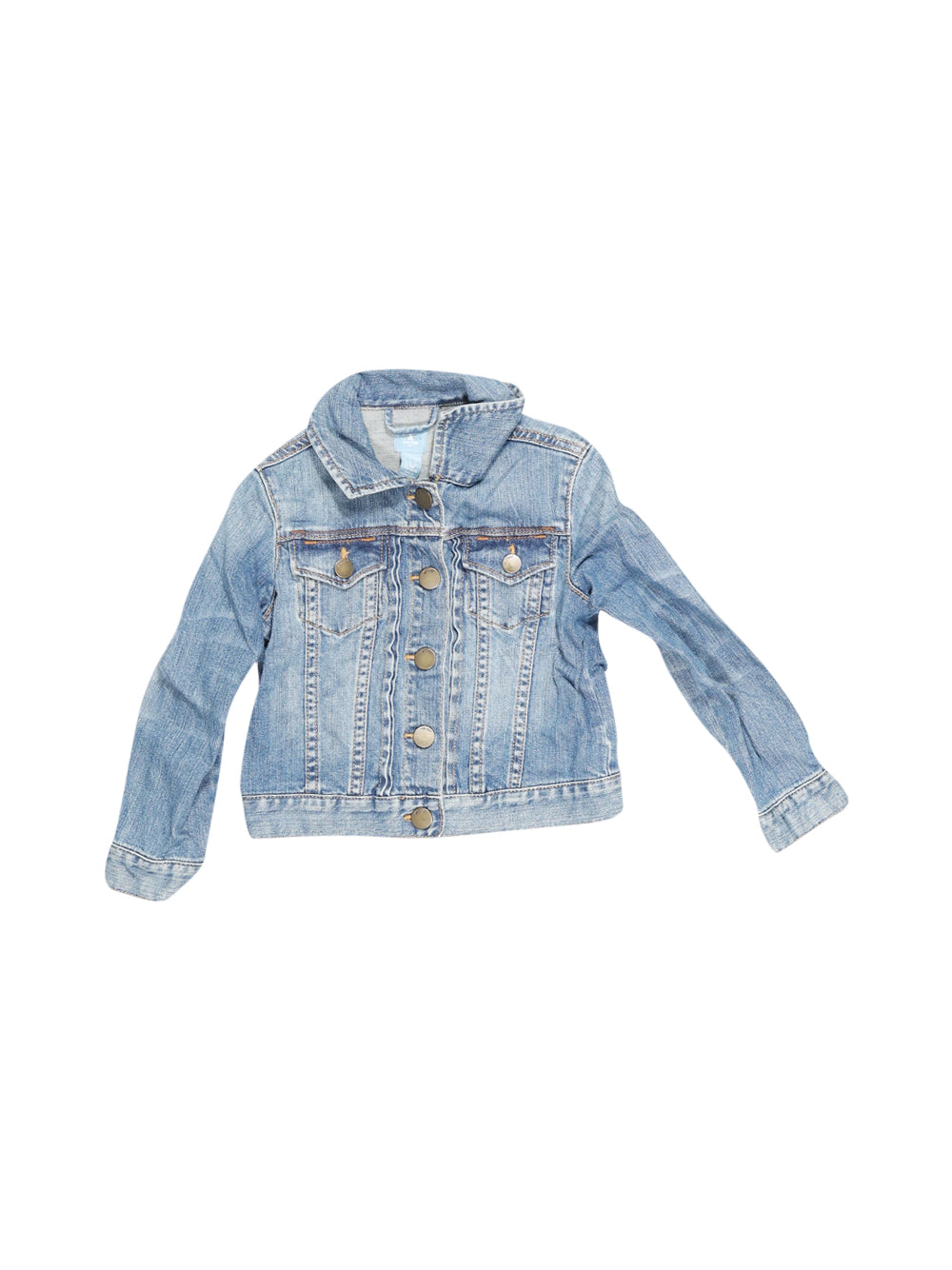 Front photo of Preloved Gap Blue Girl's jacket - size 3-4 yrs