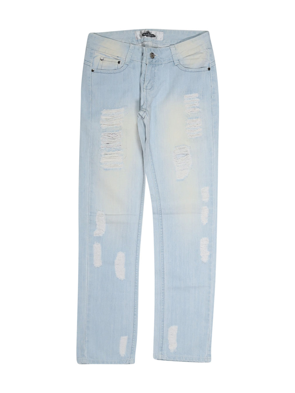 Front photo of Preloved shob Light-blue Woman's trousers - size 10/M