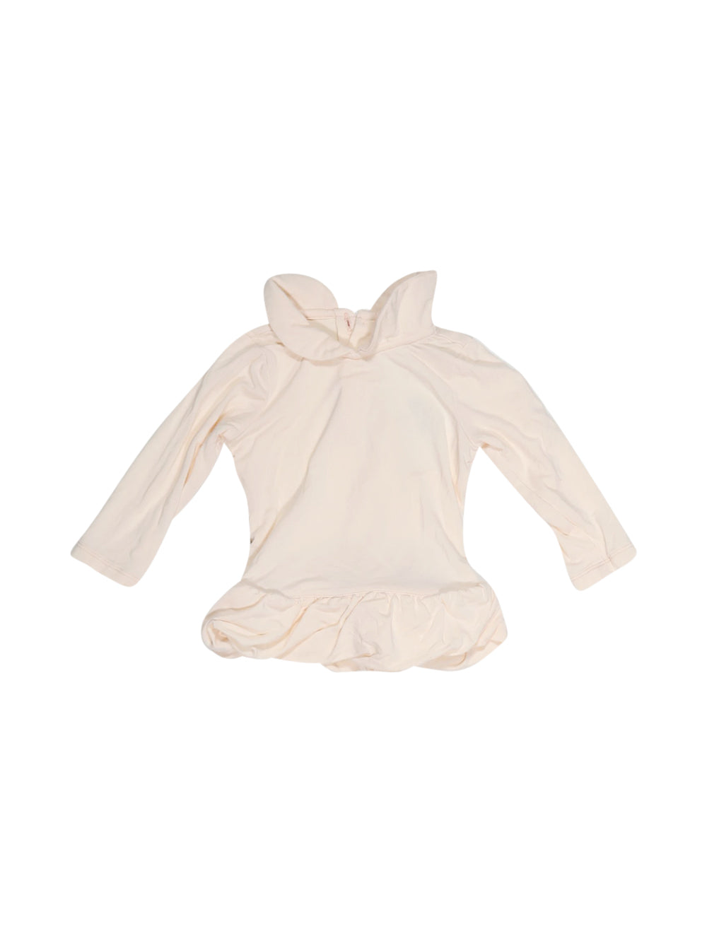 Front photo of Preloved Armani Pink Girl's long sleeved shirt - size 3-6 mths