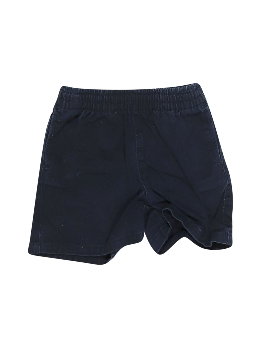 Front photo of Preloved Polo Ralph Lauren Blue Boy's shorts - size 9-12 mths