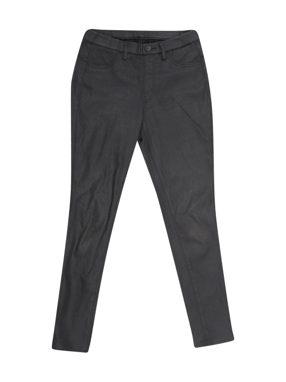 Front photo of Preloved UNIQLO Black Woman's trousers - size 6/XS