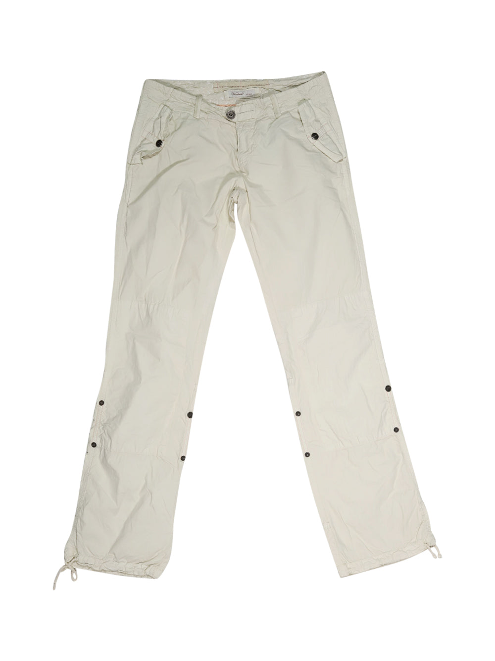 Front photo of Preloved Woolrich Beige Woman's trousers - size 8/S