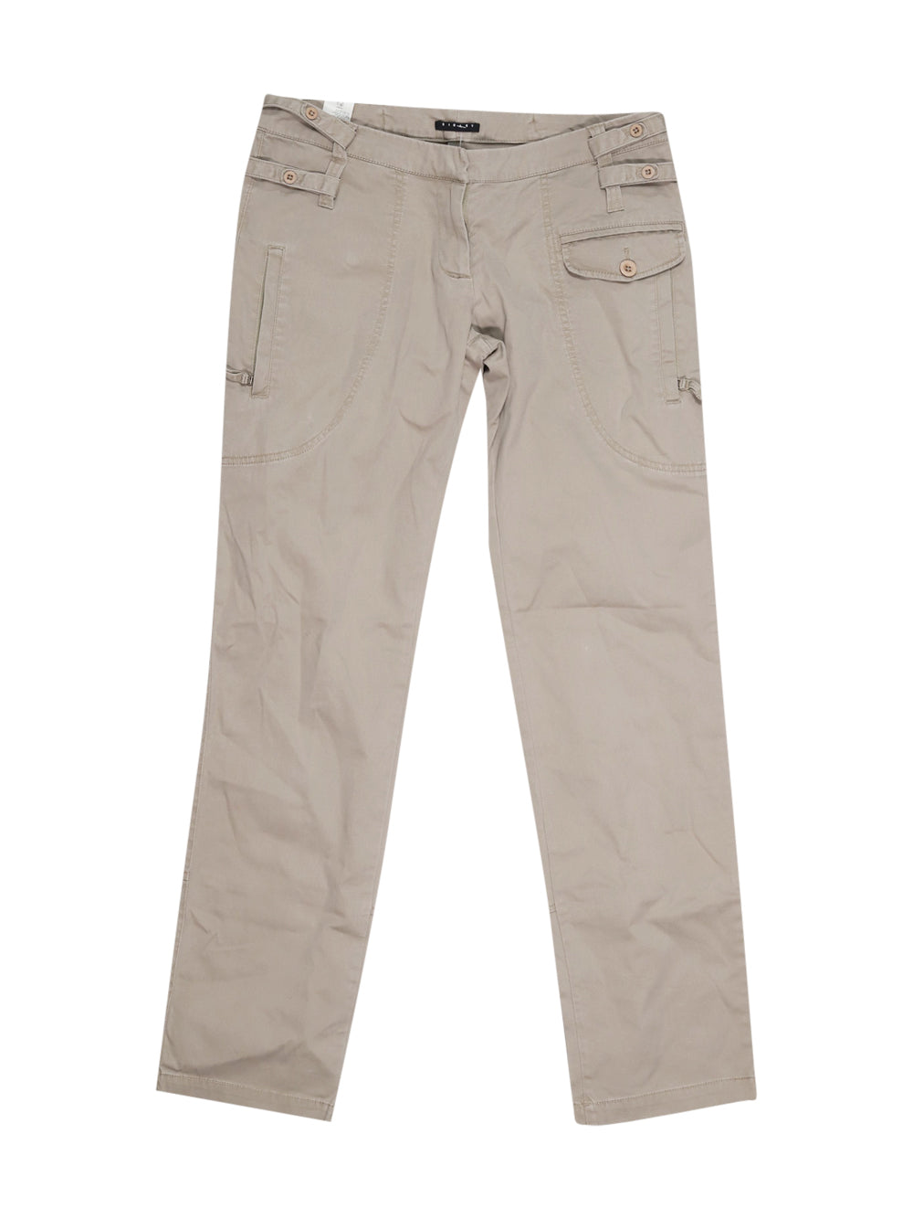 Front photo of Preloved Sisley Beige Woman's trousers - size 12/L