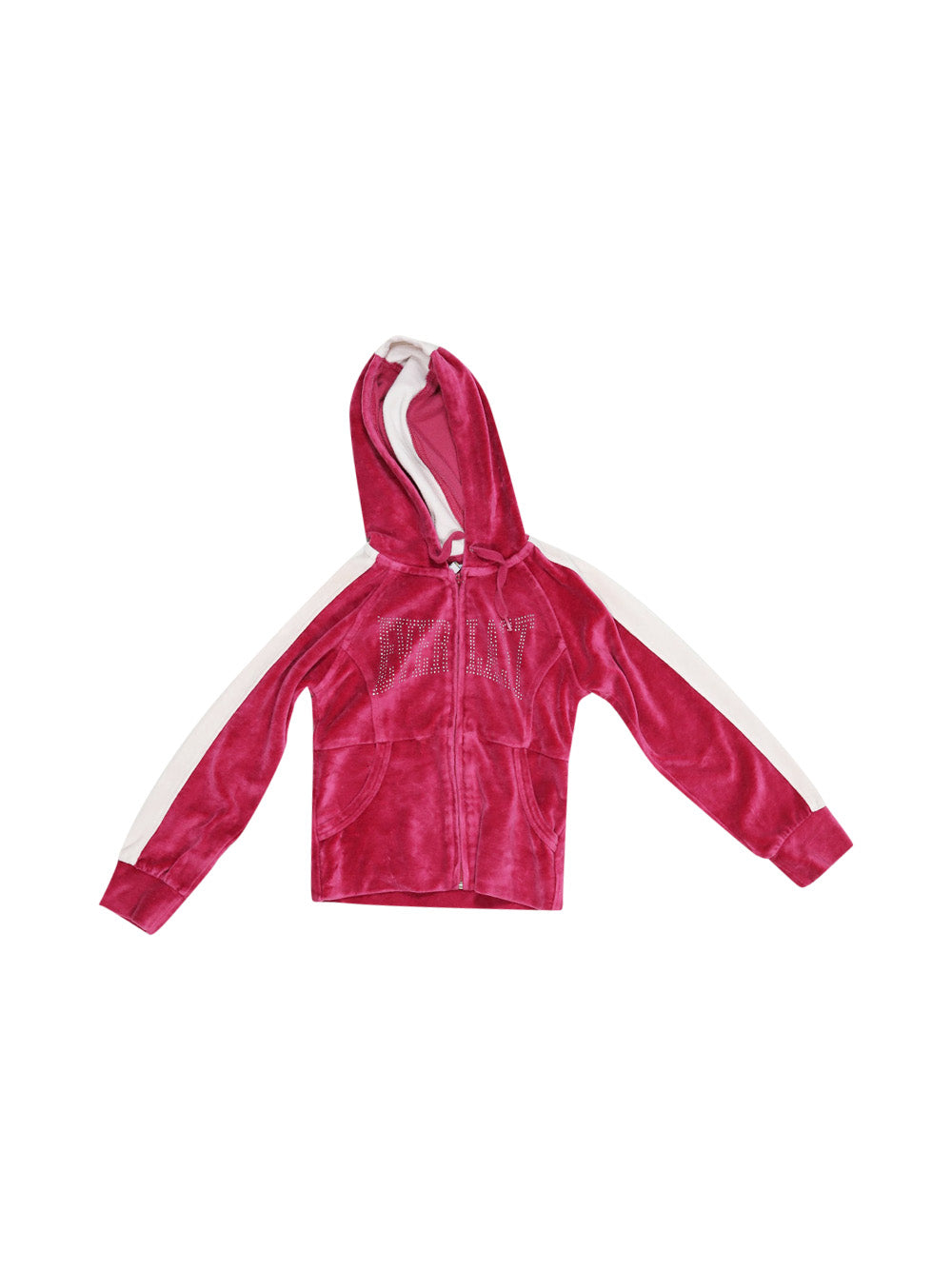 Front photo of Preloved Everlast Pink Girl's sweatshirt - size 3-4 yrs