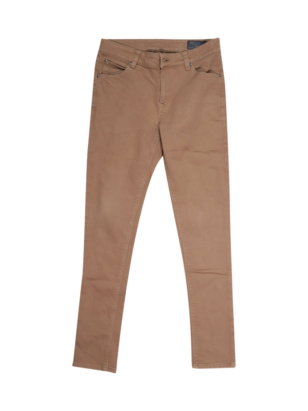 Front photo of Preloved Asos Brown Woman's trousers - size 10/M