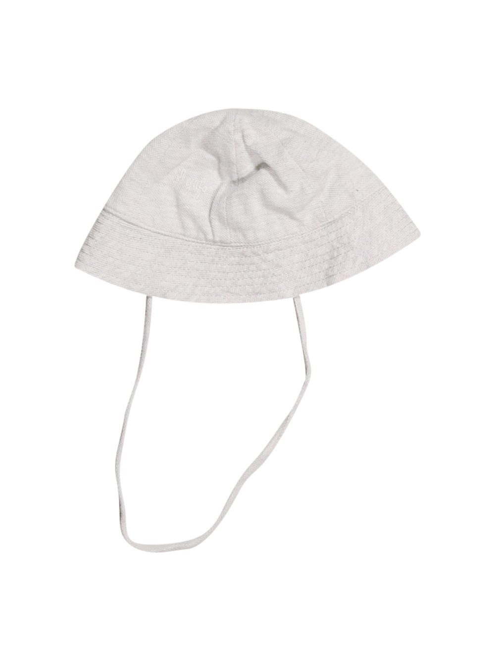 Front photo of Preloved Il Gufo White Girl's hat - size 2-3 yrs