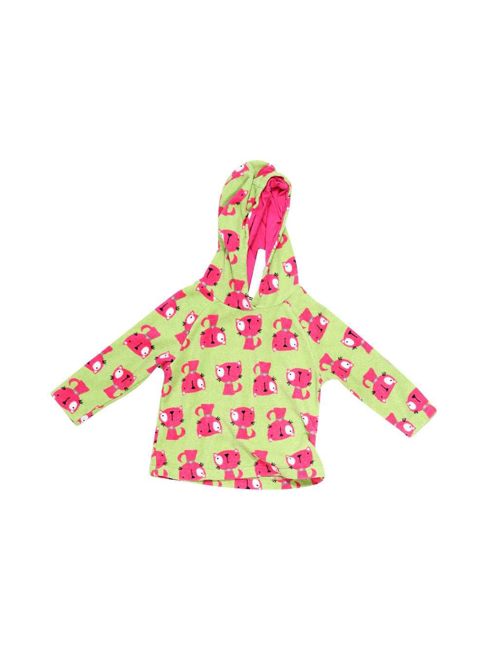 Front photo of Preloved Next Green Girl's polarfleece - size 12-18 mths