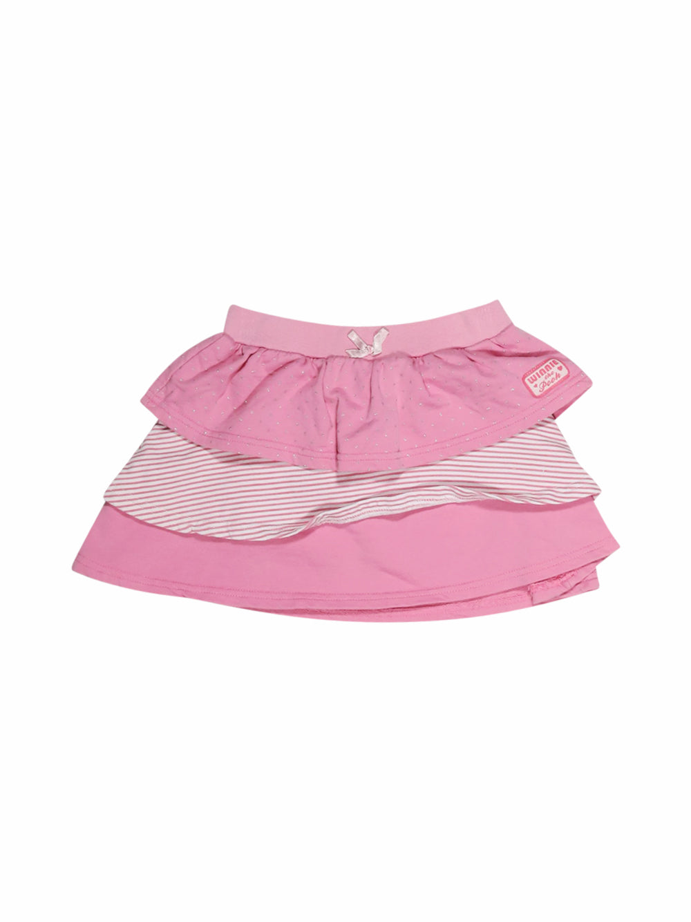 Front photo of Preloved Disney Pink Girl's skirt - size 12-18 mths