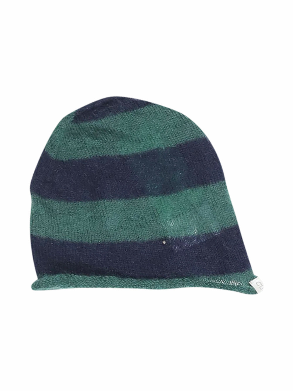 Front photo of Preloved Cucù Lab Green Girl's hat - size 3-4 yrs