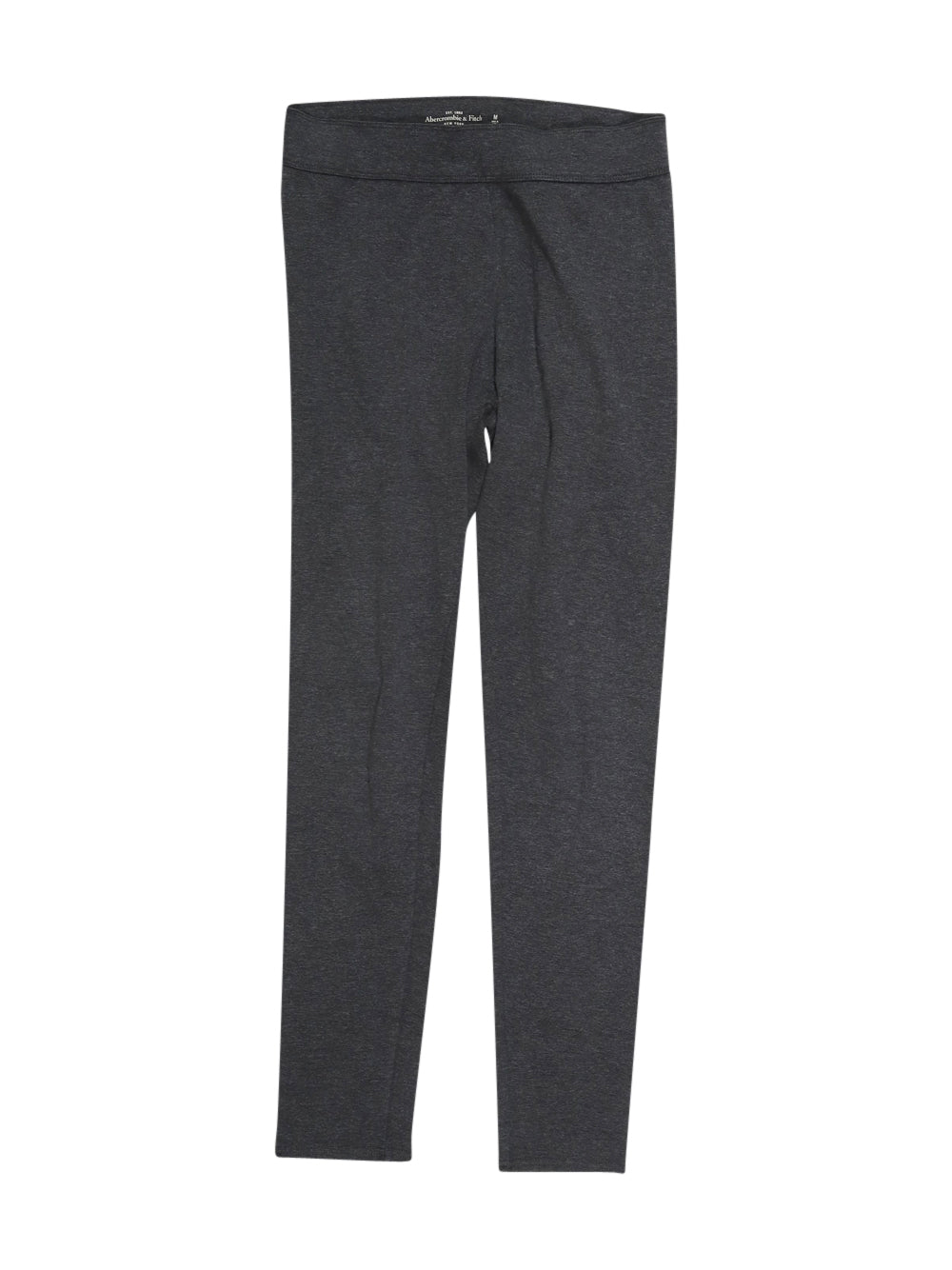 Front photo of Preloved Abercrombie&Fitch Grey Woman's trousers - size 10/M