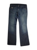 Front photo of Preloved Diesel Blue Woman's trousers - size 8/S