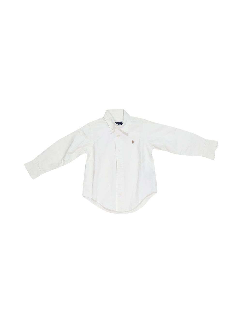 Front photo of Preloved Polo Ralph Lauren White Boy's shirt - size 18-24 mths