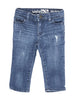 Front photo of Preloved Gap Blue Girl's trousers - size 12-18 mths
