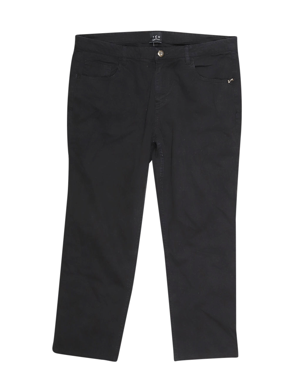 Front photo of Preloved Caractère Black Woman's trousers - size 12/L