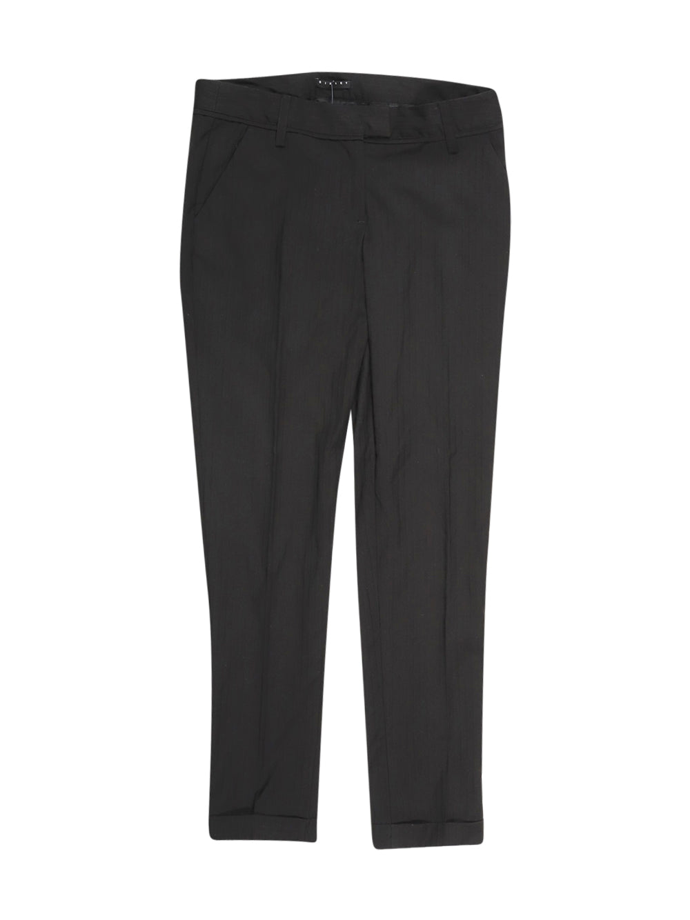 Front photo of Preloved Sisley Black Woman's trousers - size 8/S