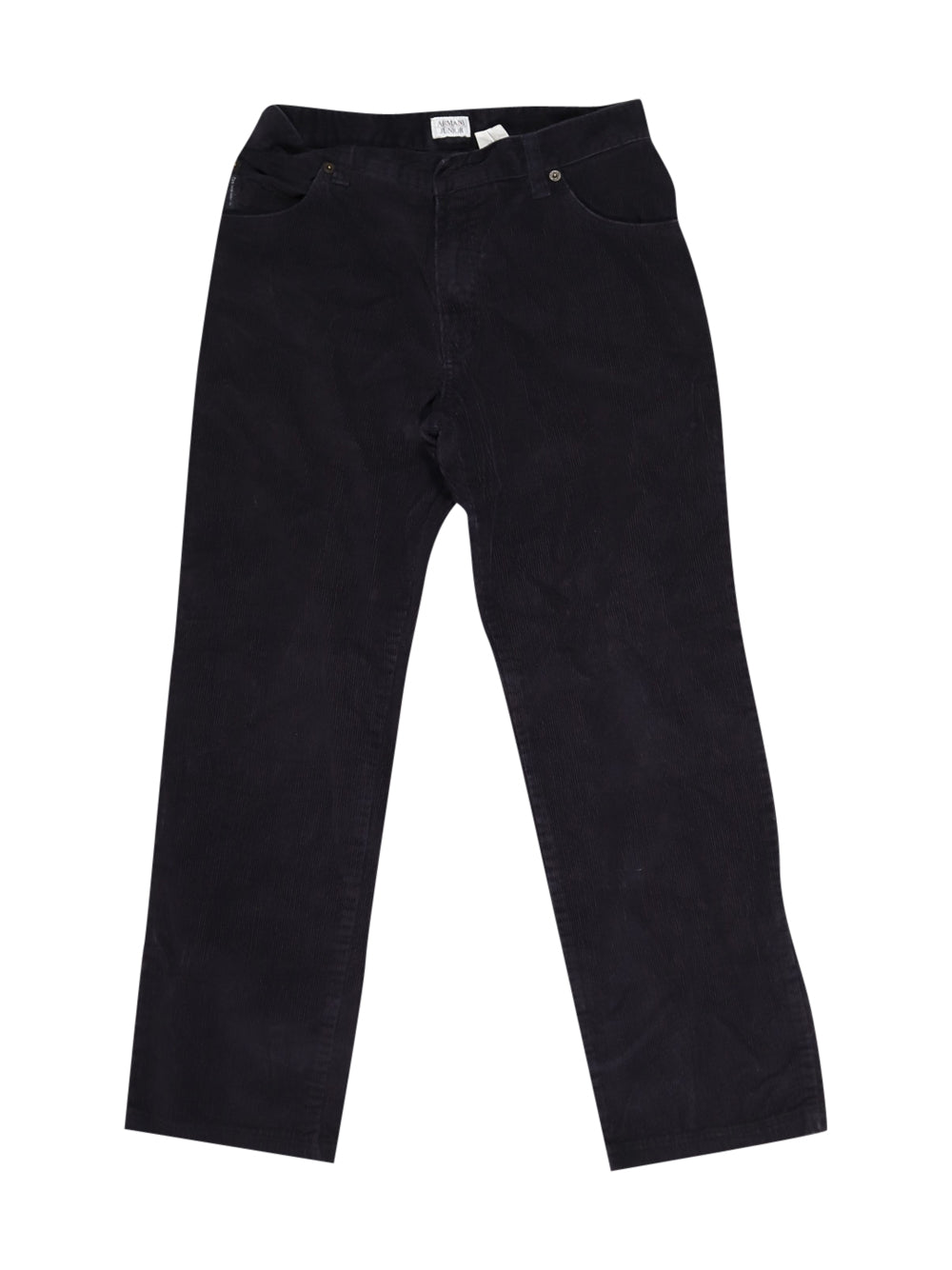 Front photo of Preloved Armani Black Girl's trousers - size 10-12 yrs
