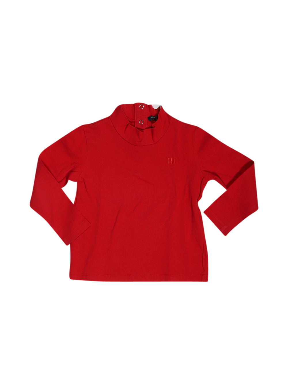 Front photo of Preloved Silvian Heach Red Girl's long sleeved shirt - size 12-18 mths