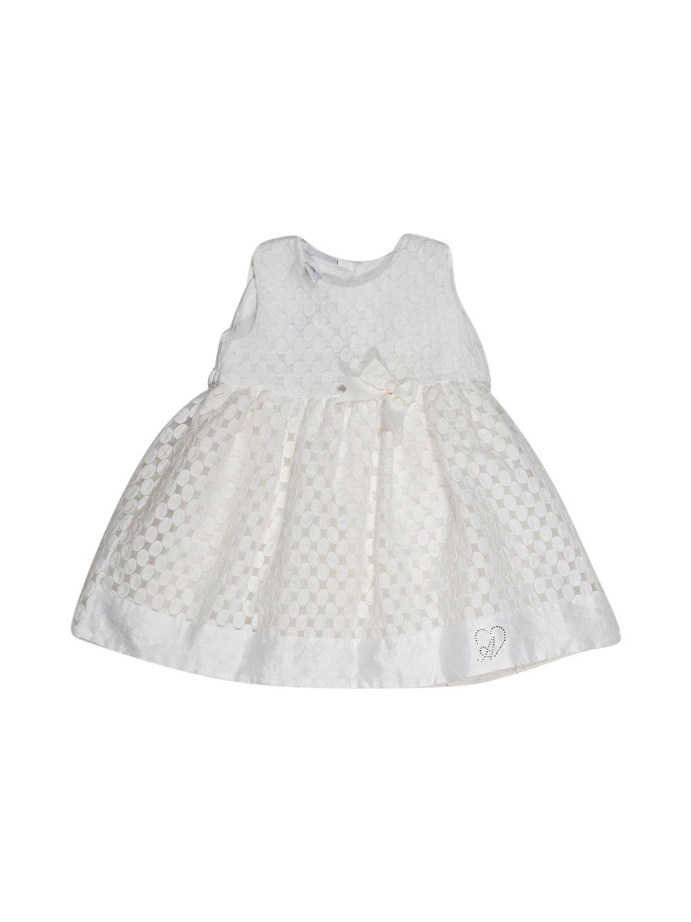 Front photo of Preloved Alice Pi White Girl's dress - size 18-24 mths