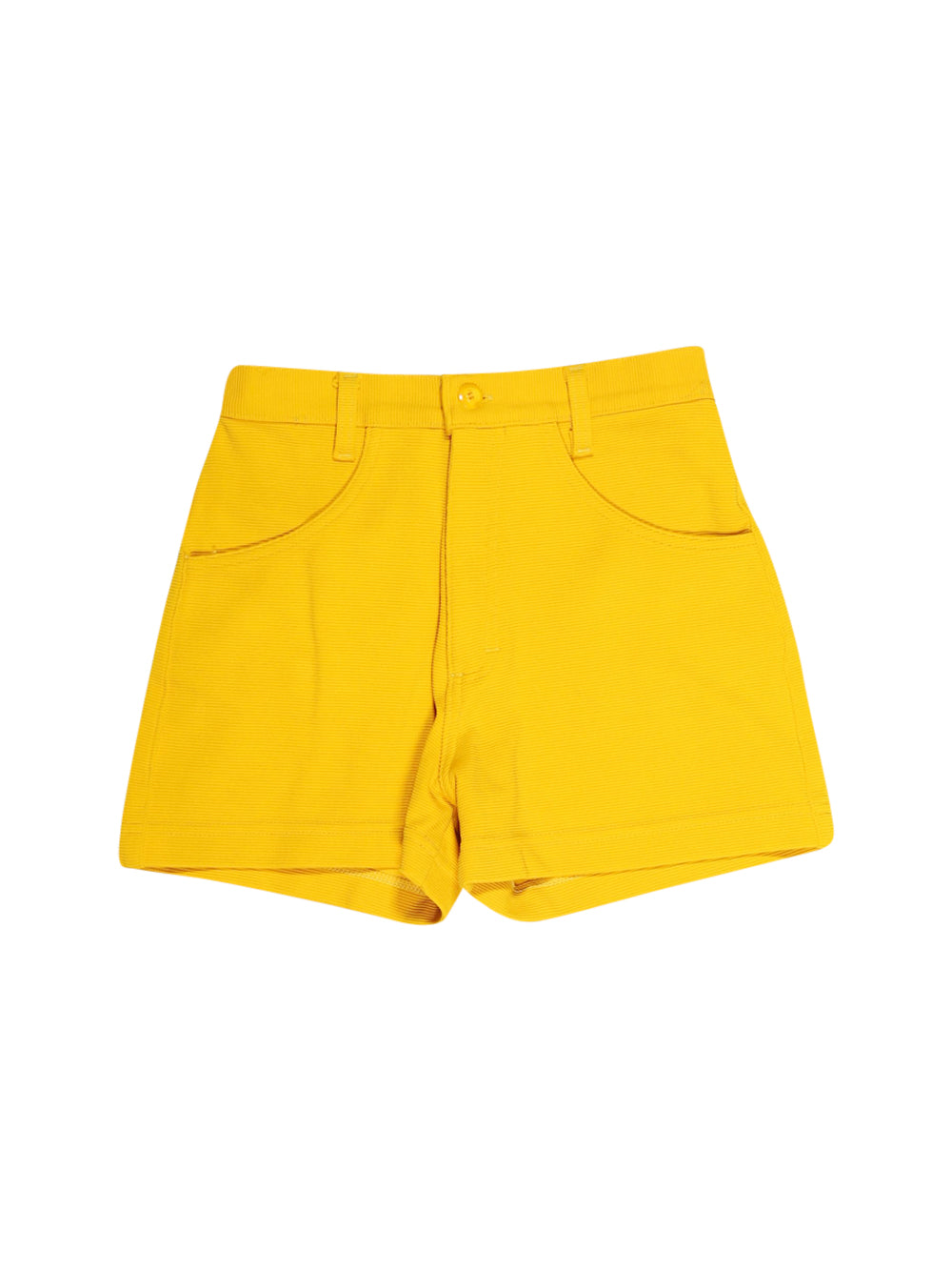 Front photo of Preloved M.OFFICER Yellow Woman's shorts - size 8/S