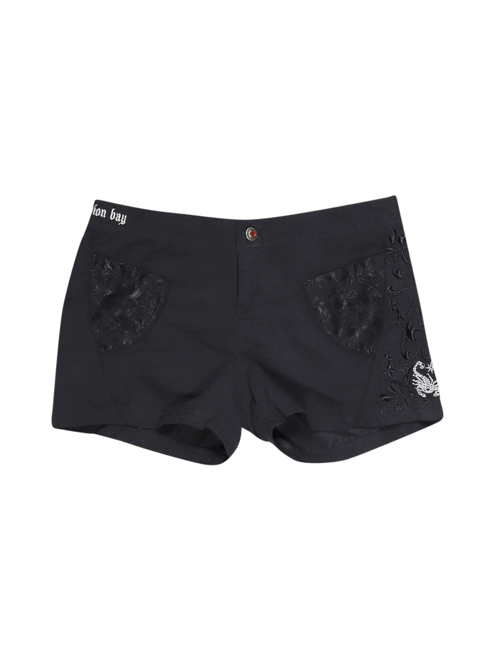 Front photo of Preloved Scorpion Bay Black Woman's shorts - size 8/S