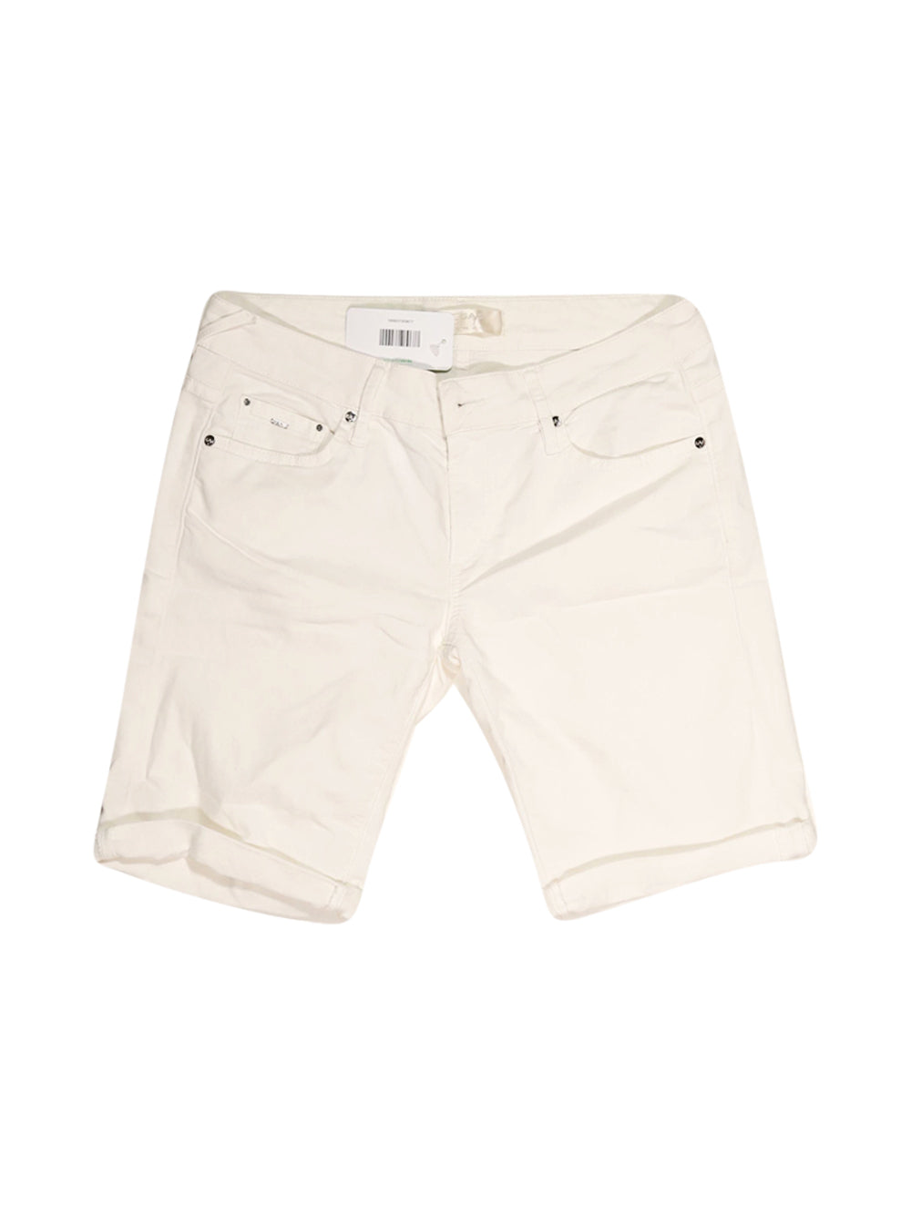 Front photo of Preloved Gas White Woman's shorts - size 10/M