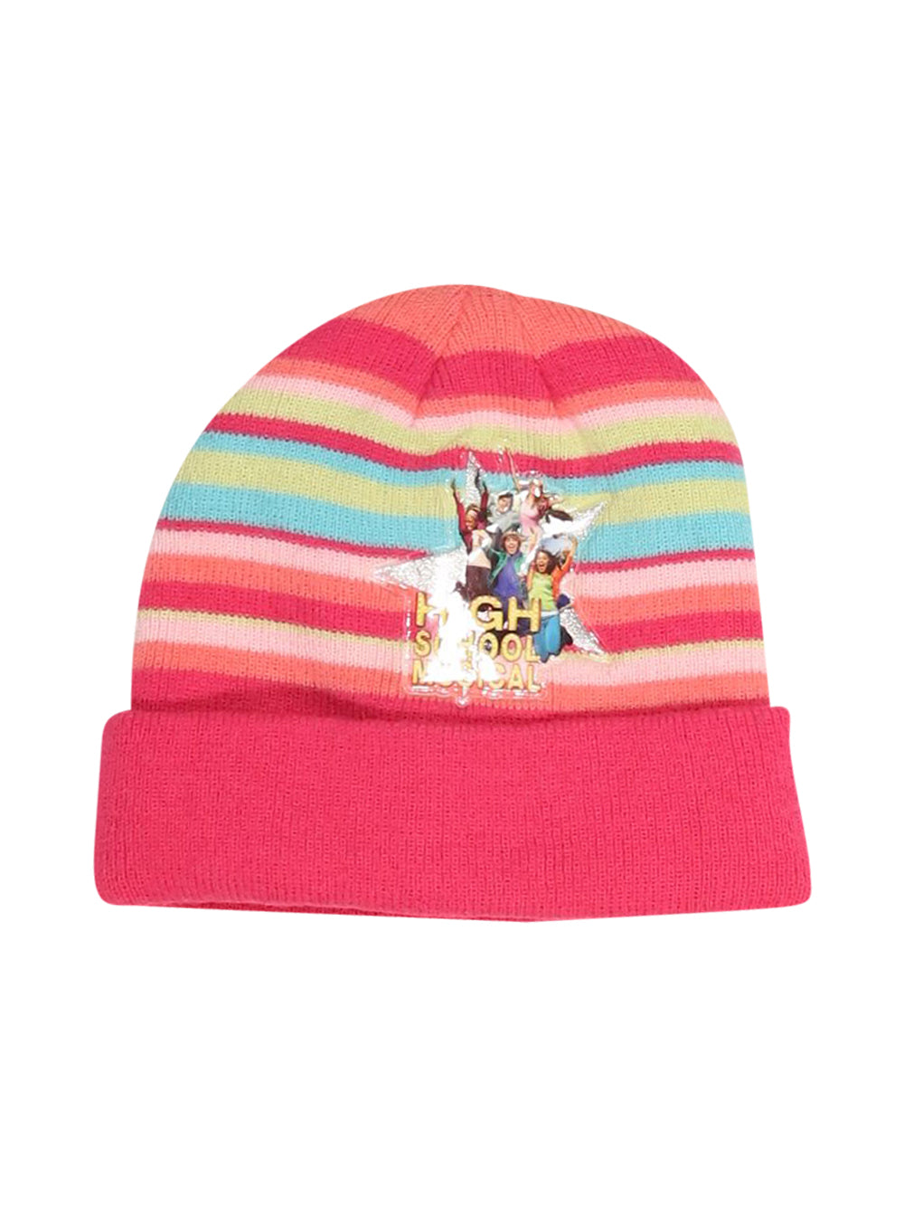 Front photo of Preloved Disney Pink Girl's hat - size 12-14 yrs