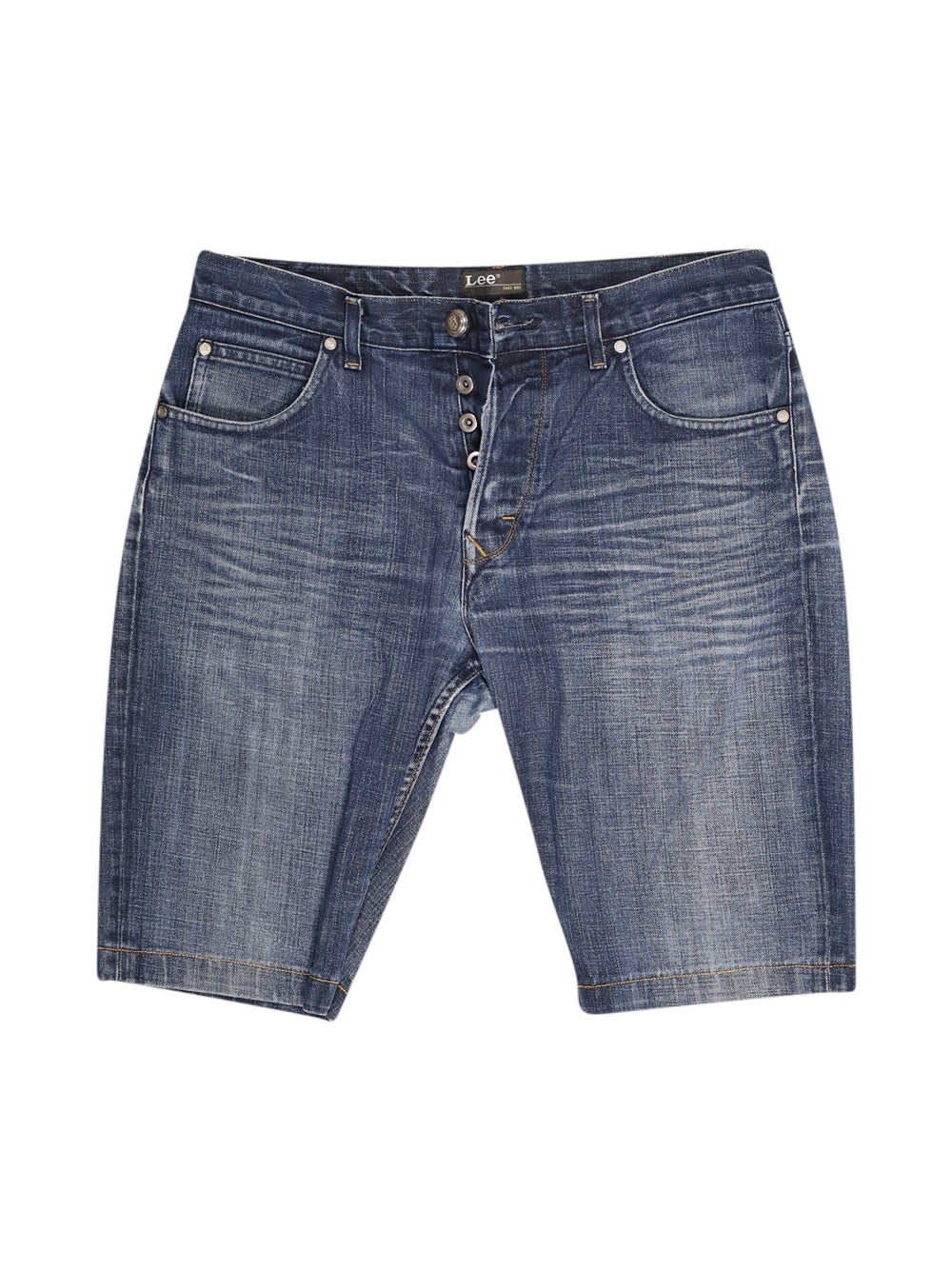Front photo of Preloved Lee Blue Man's shorts - size 36/S