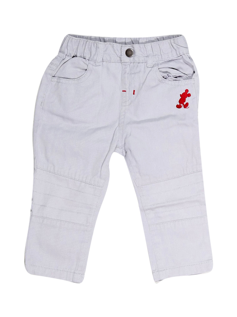 Front photo of Preloved Disney Grey Boy's trousers - size 12-18 mths