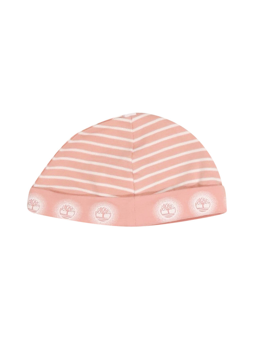 Front photo of Preloved Timberland Pink Girl's hat - size 3-6 mths