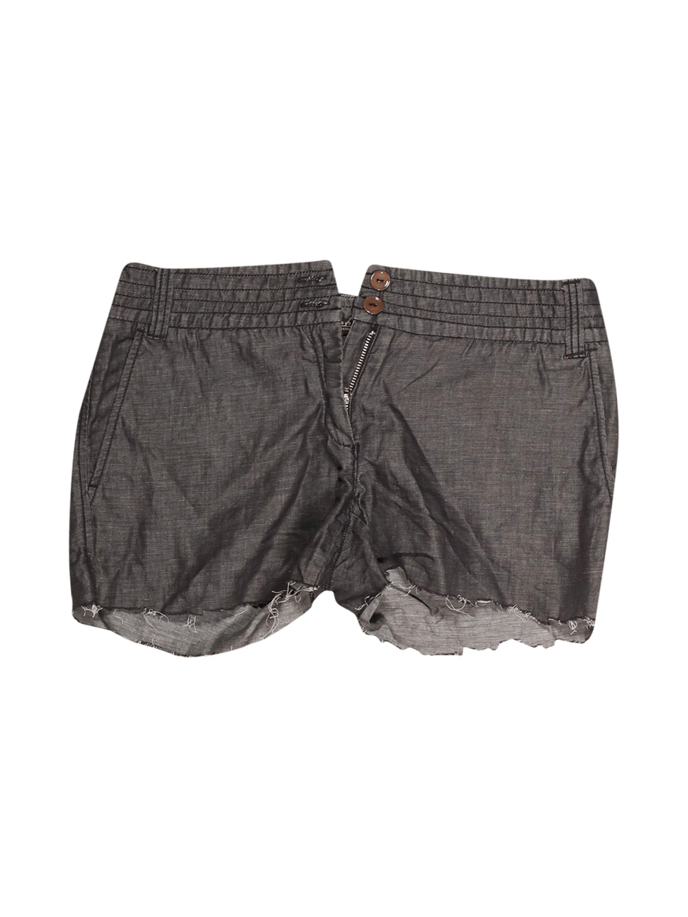 Front photo of Preloved Weekend (Max Mara) Grey Woman's shorts - size 10/M