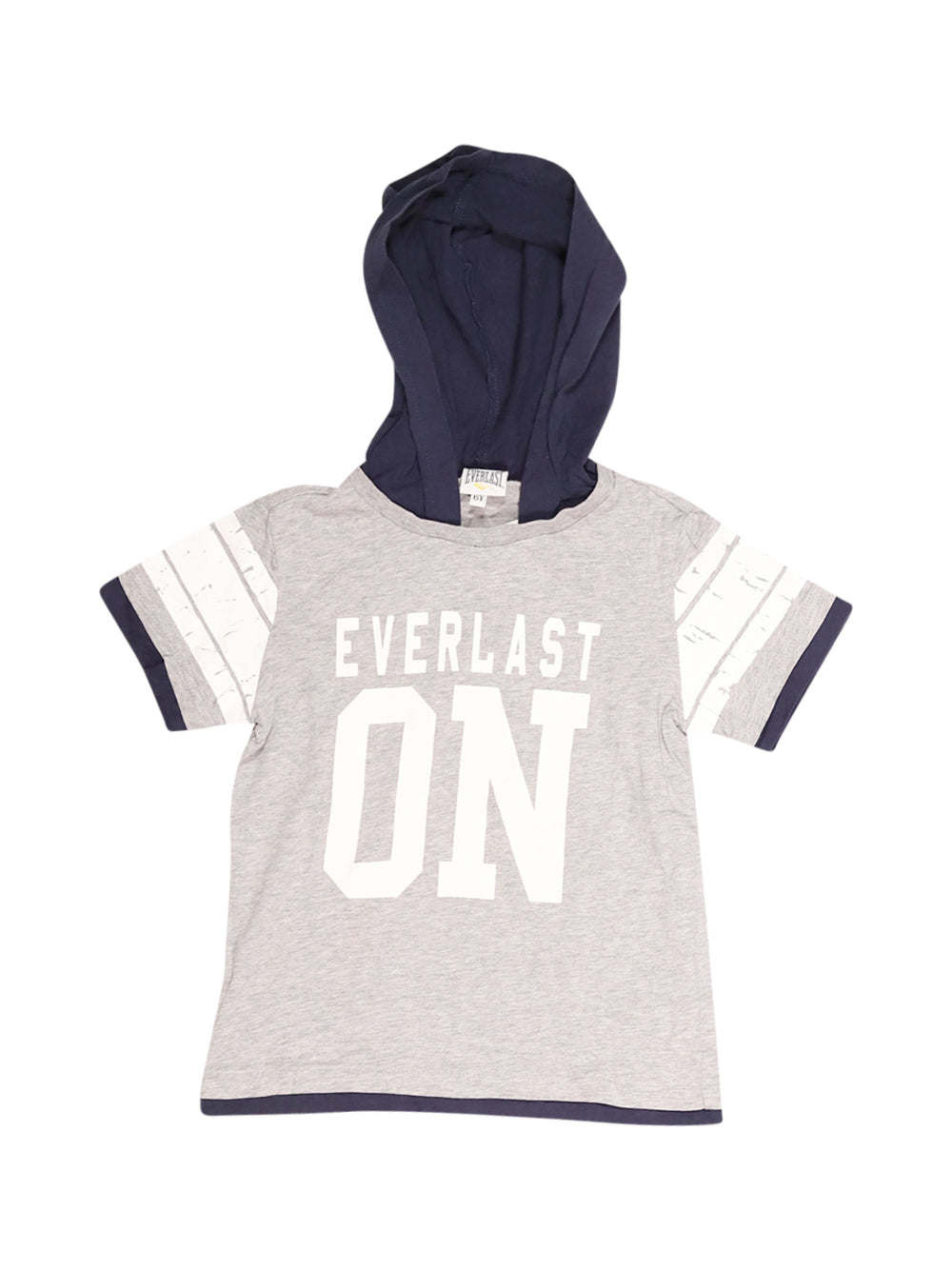 Front photo of Preloved Everlast Grey Boy's t-shirt - size 5-6 yrs