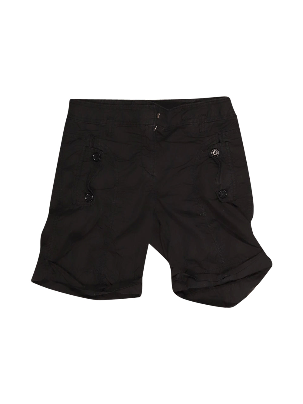 Front photo of Preloved Henry Cotton's Black Woman's shorts - size 6/XS