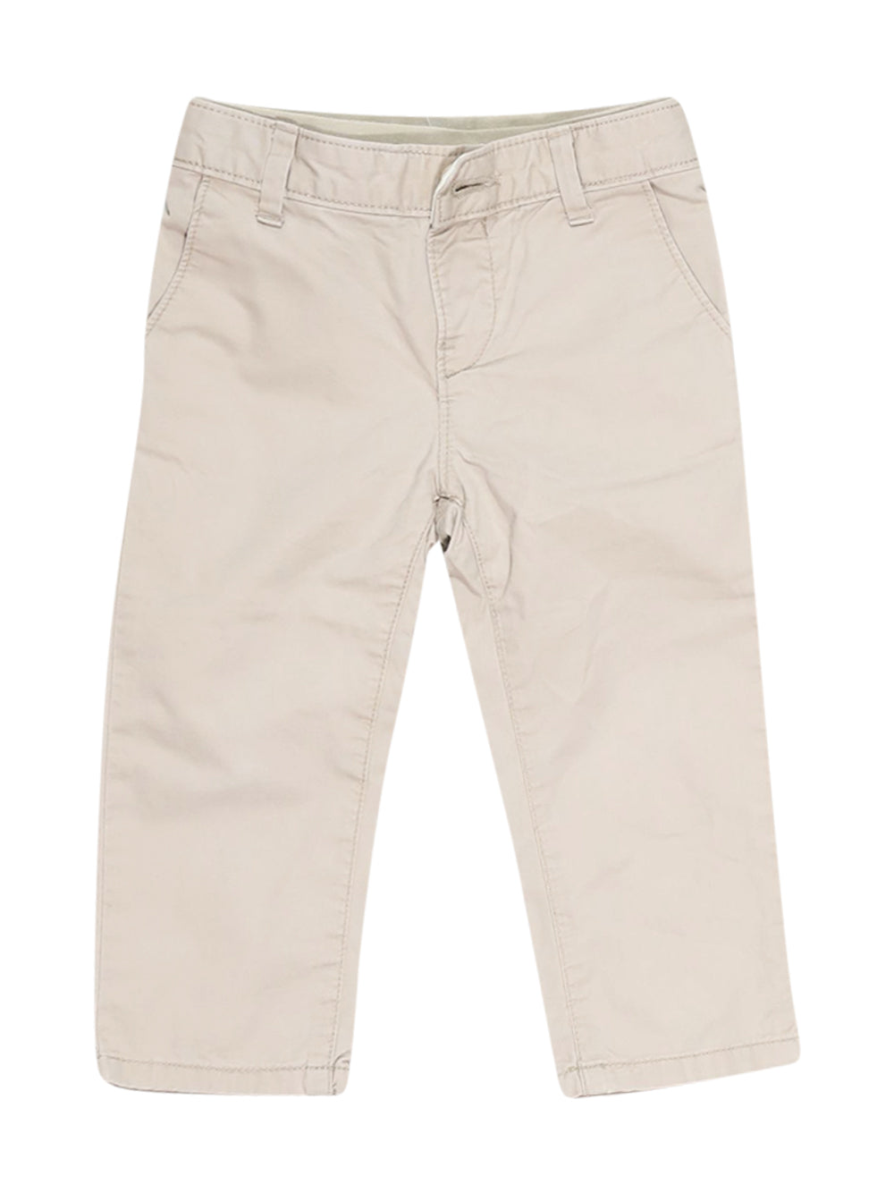 Front photo of Preloved Gap Beige Boy's trousers - size 18-24 mths