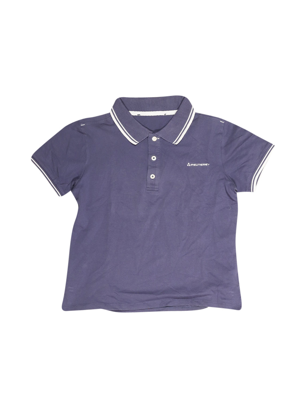 Front photo of Preloved Peuterey Blue Boy's polo - size 10-12 yrs