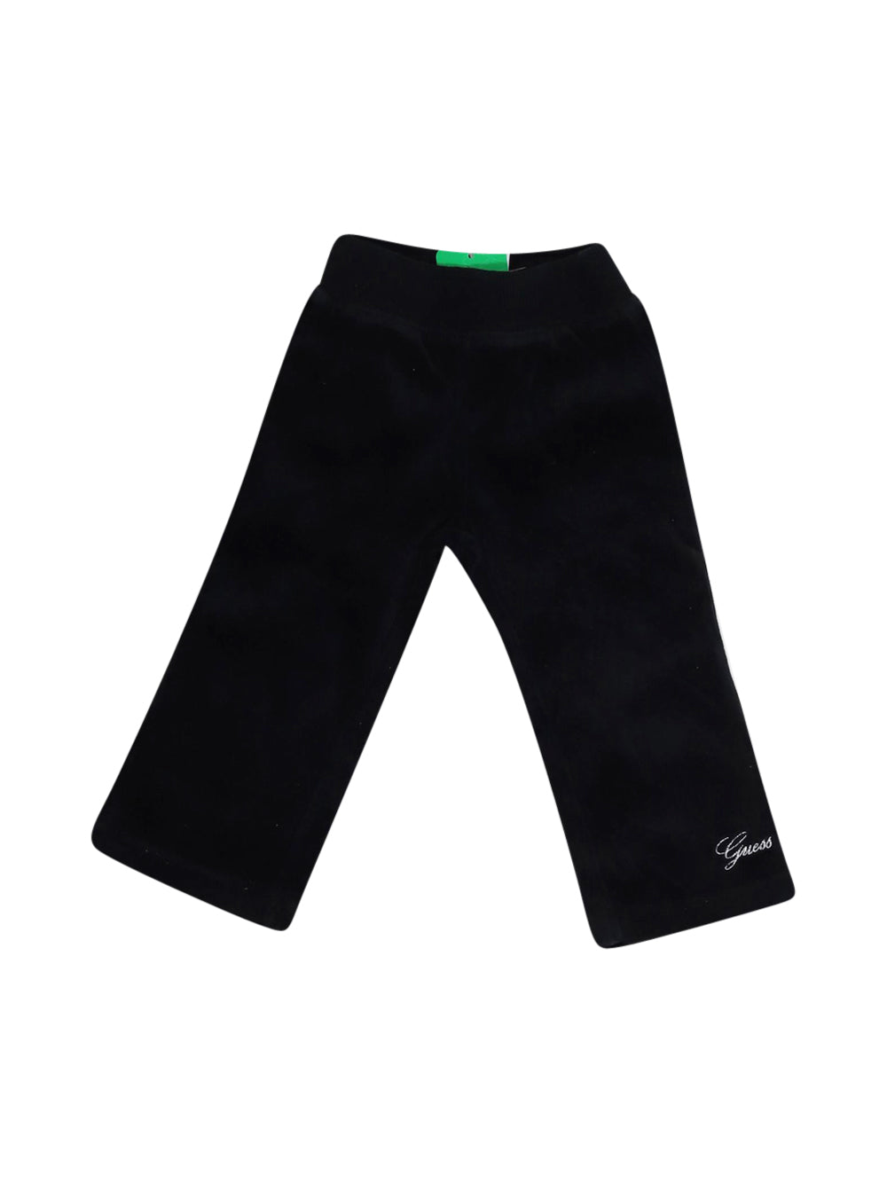 Front photo of Preloved Guess Black Girl's trousers - size 12-18 mths